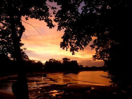 batukaras sunset